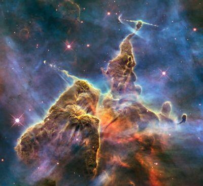 Nébuleuse de la Carène (Hubble, Nasa)