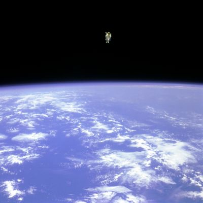 Bruce McCandless, le 12 février 1984, NASA