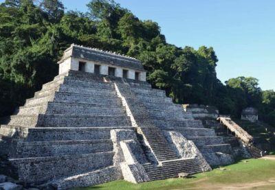 pyramide de Palenque, Mexique